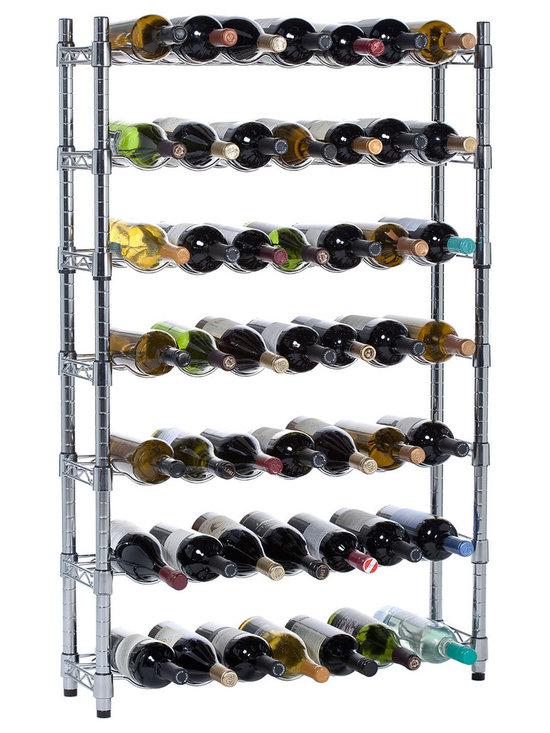 Epicurean Wine Storage System, 7 Row Rack -