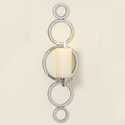 Progressive Ring Sconce traditional candles and candle holders