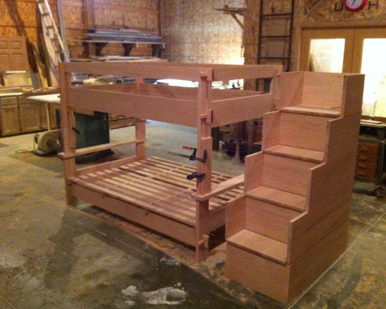 Past Projects - Kid's Convertable bedroom Set