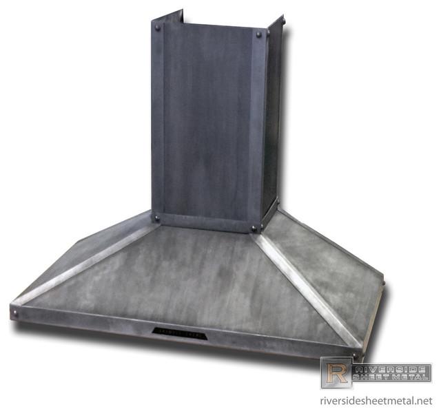 Zinc Hood Vent rustic-range-hoods-and-vents