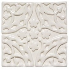 """Church Decorative Field Tile Deco """"G"""" 4 1/4"""" x 4 1/4"""" — Products"""