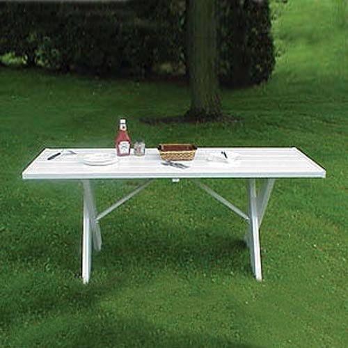 Dura-Trel 6 ft. Outdoor Service Table traditional-outdoor-dining-tables