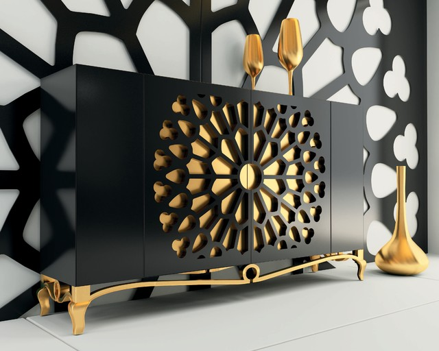 Macral Design. Buffet Dining room. eclectic-buffets-and-sideboards