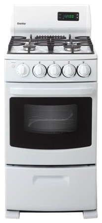 "20"" Gas Range, 4 Sealed Burner, Electronic Ignition, 2 Oven Racks, Window modern-gas-ranges-and-electric-ranges"