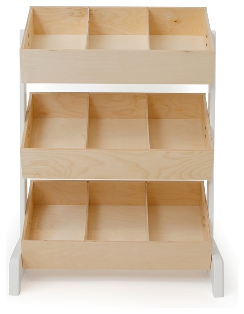 Oeuf Classic Toy Storage Natural Modern Toy Organizers By Design Public