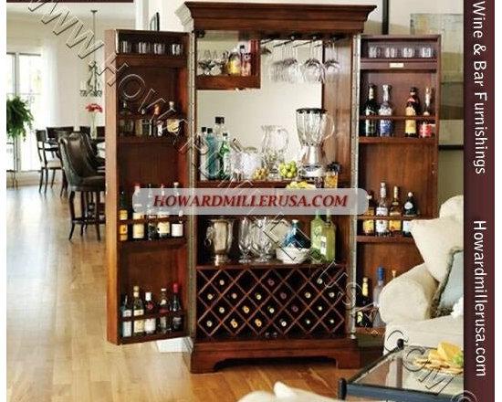 Wine Bar Cabinet - SONOMA 695-064