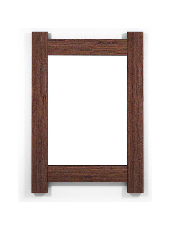 Contempo Dun Wenge - If it is truly said that eyes are the reflection of our soul, wall mirrors are the reflection of our home. Why settle with dull frames that won´t share anything with us?