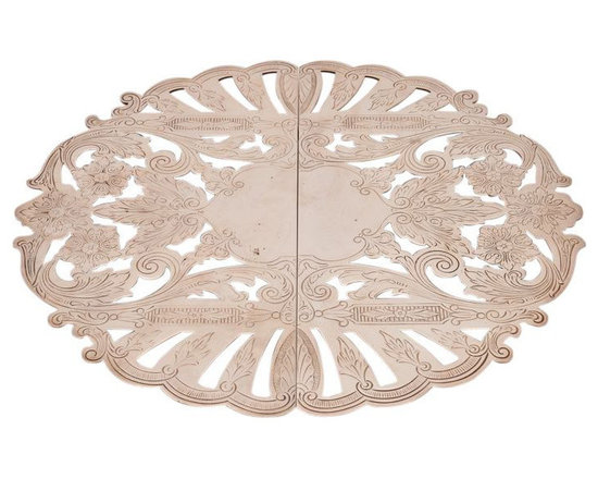 SOLD OUT! Silver Plated Trivet with Floral Accents - $125 Est. Retail - $45 on C -