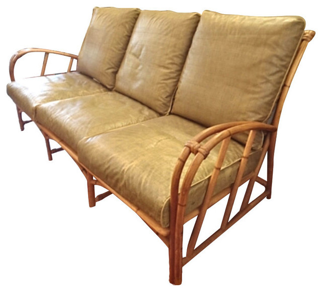 Vintage Heywood Wakefield Rattan Set Tropical Sofas  : tropical sofas from houzz.com size 640 x 580 jpeg 69kB