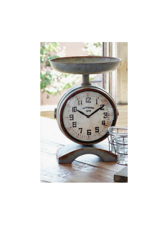 Vintage-Style Scale Clock -