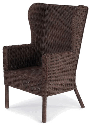 Loft Wing Wicker Chair traditional-living-room-chairs