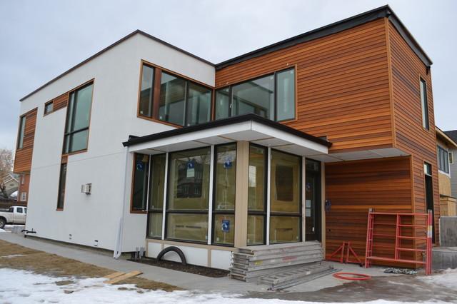 Lindal Cedar Homes Custom Td3 1890 Modern Calgary
