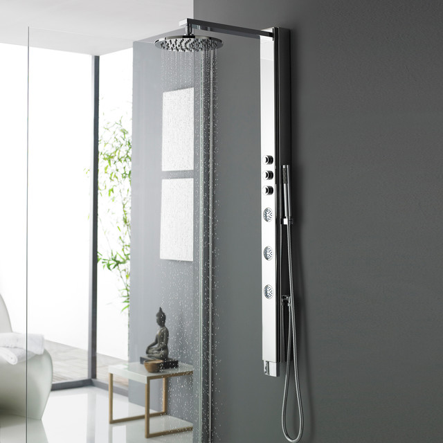 Shower Tower Panel System Column contemporary-showers