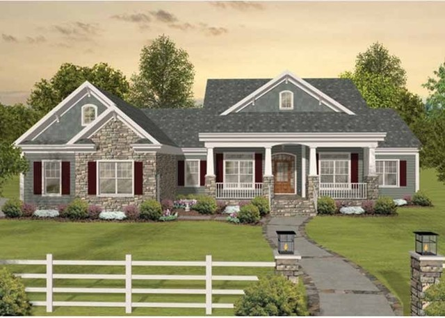 House plan hwepl68495 from craftsman for House plans eplans