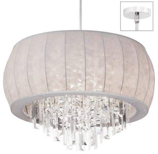 8 Light Crystal Chandelier modern-chandeliers