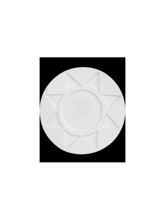 White Urethane Ceiling Medallion - White Urethane Ceiling Medallions easily add elegance to the entire room. Buy your Ceiling Medallions here today.
