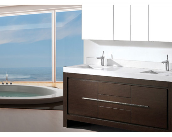 Madeli Bath Furniture Vicenza Collection - Madeli Viscenza Collection 888-279-9001