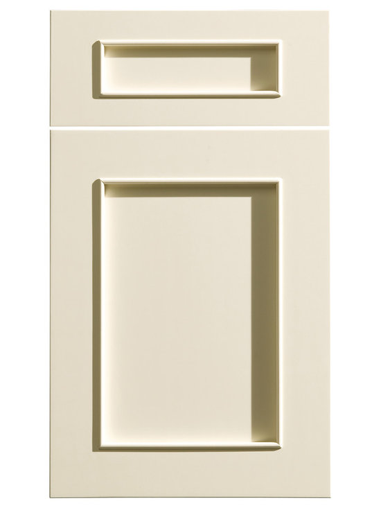 """Dura Supreme Cabinetry - Dura Supreme Cabinetry Silverton Cabinet Door Style - Dura Supreme Cabinetry """"Silverton"""" cabinet door style in Paintable shown with Dura Supreme's """"Antique White"""" paint finish."""