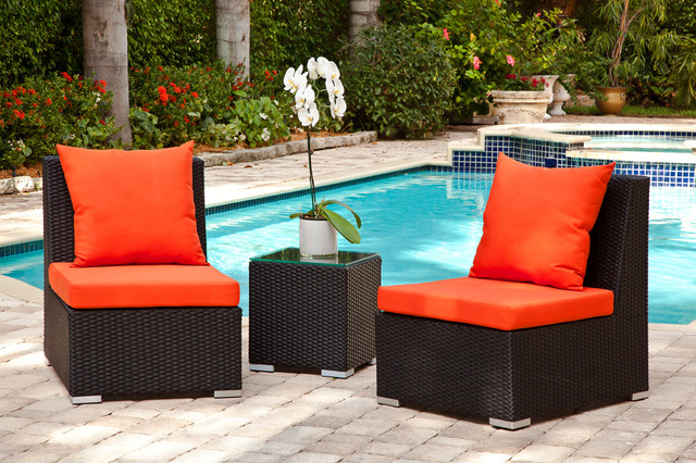 Fiora Set Modern Outdoor Lounge Chairs Miami By Mh2g
