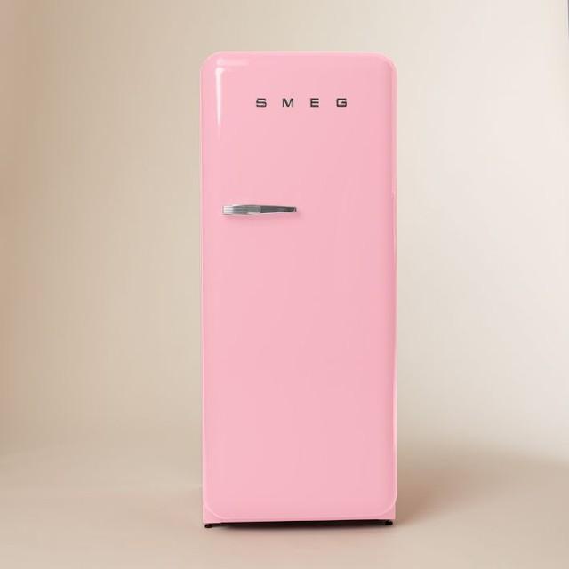 Smeg Refrigerator Pink Modern Refrigerators By West Elm