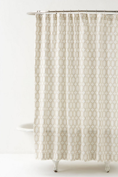 Atavi Shower Curtain Contemporary Shower Curtains By Anthropologie