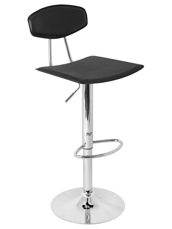 Vector Bar Stool - BLACK