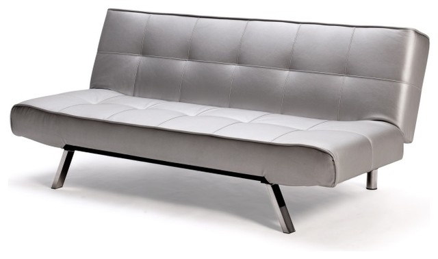 Argent Sofa Bed In Silver contemporary sofa beds