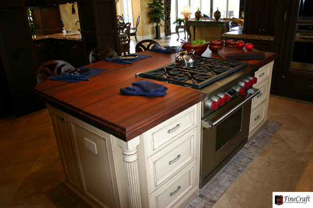 Villa Carnia - Mediterranean - Kitchen Islands And Kitchen Carts - tampa - by FineCraft Custom ...