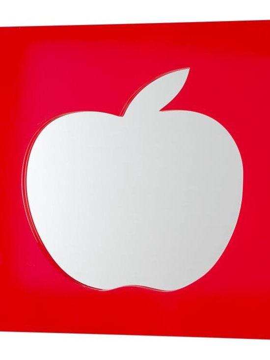 Cut it Out Mirror, Apple -