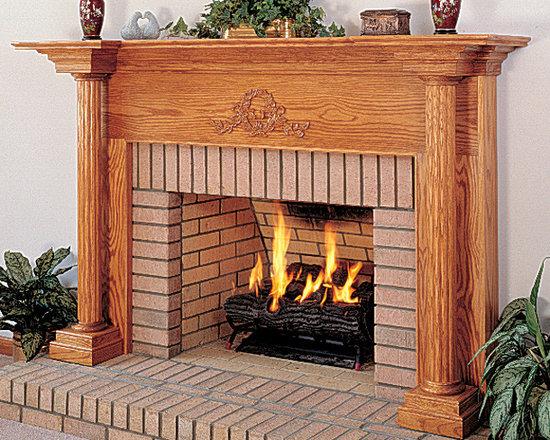 Olympus Wood Fireplace Mantel -