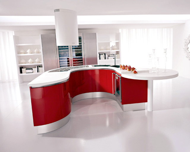 kitchen contemporary-rendering