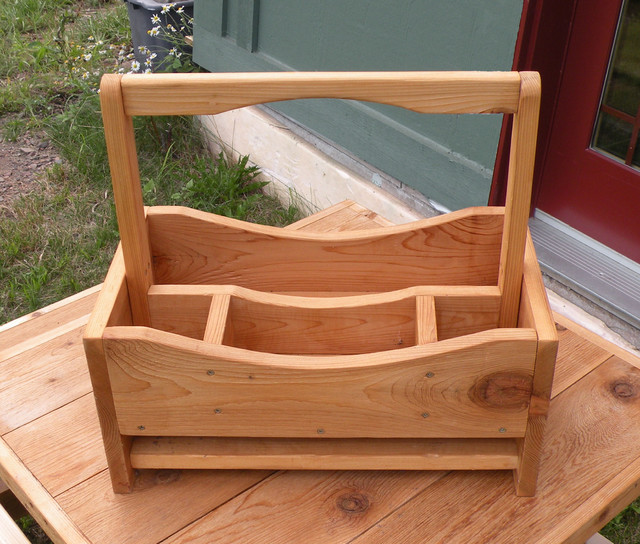 Garden Tote - Garage And Tool Storage - by Craft Wright Woodworking