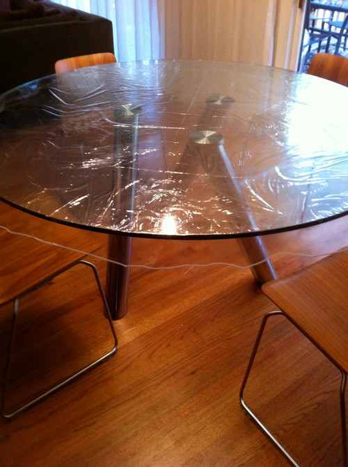 Need help to protect my glass table : home design from www.houzz.com size 500 x 670 jpeg 93kB