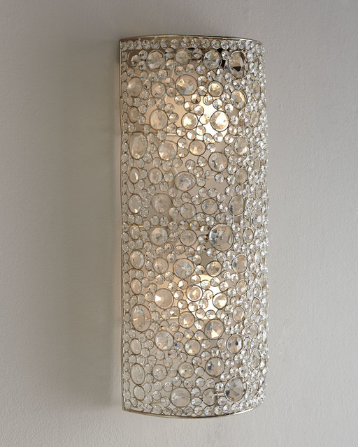 Four Hands Scattered Crystal Sconce Wall Sconces By