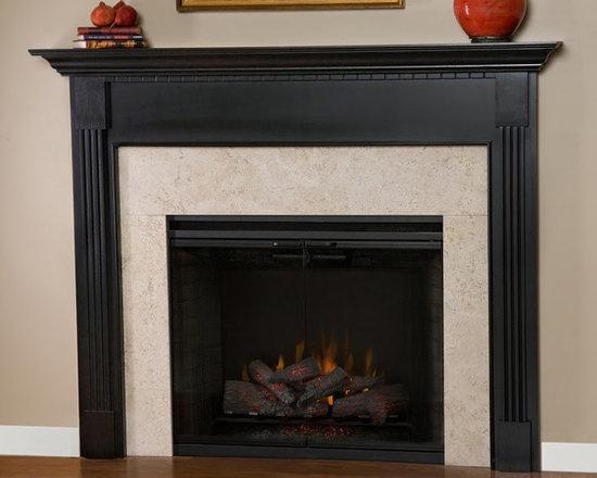 Shasta Wood Fireplace Mantel -
