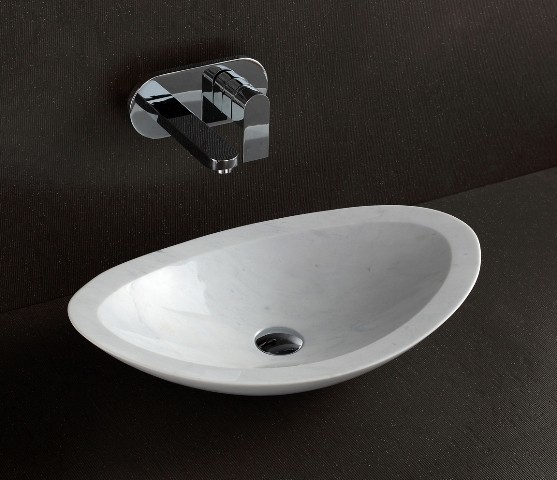 Nero designer above counter natural stone basin modern bathroom sinks other metro by - Designer bathroom sinks basins ...