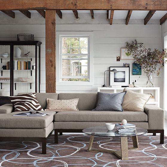 Lorimer Chaise + Right Arm Sofa