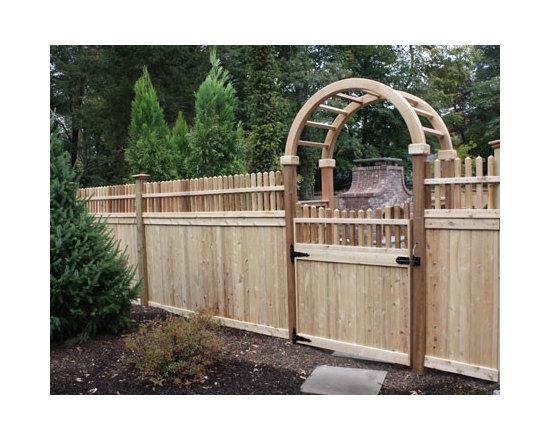 Wood Fences -