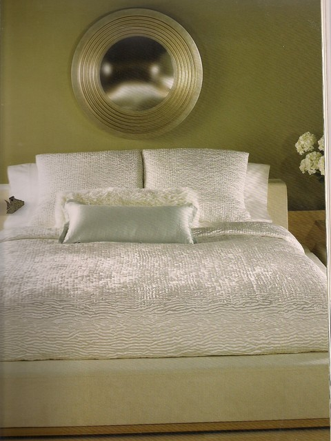 Custom Bedding by Design Expectations contemporary bedroom