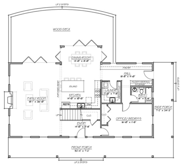 Plan 485 1 farmhouse traditional floor plan other for Traditional farmhouse plans