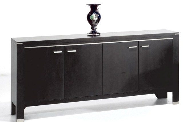 contemporary buffets and sideboards. Black Bedroom Furniture Sets. Home Design Ideas