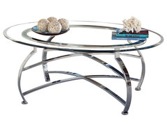 Steve Silver Reno 45x32 Cocktail Table contemporary-coffee-tables