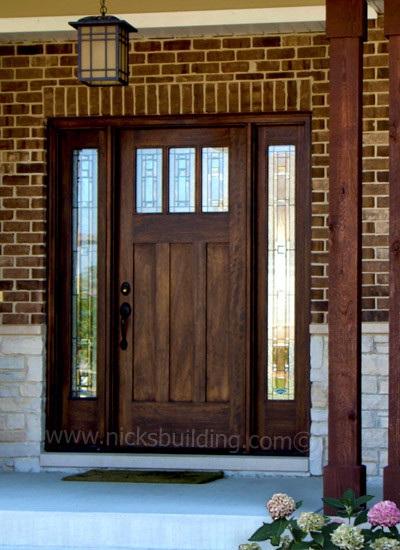 Exterior doors craftsman front doors chicago by for External door with window