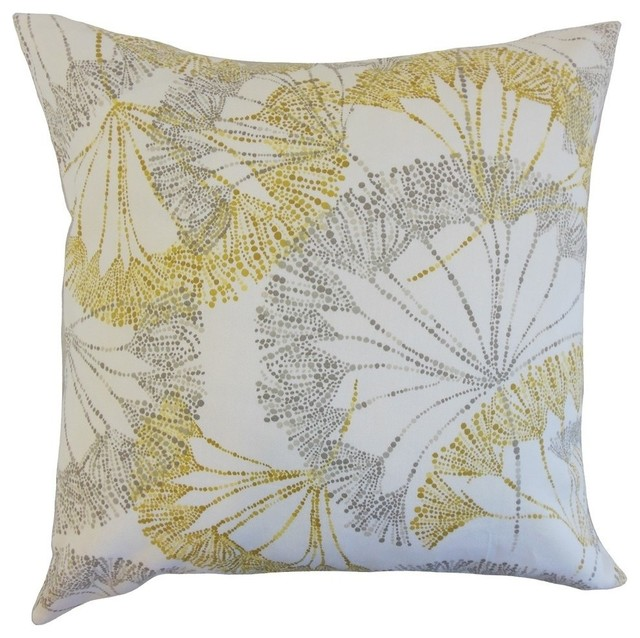 Grove Floral Pillow, Yellow 20
