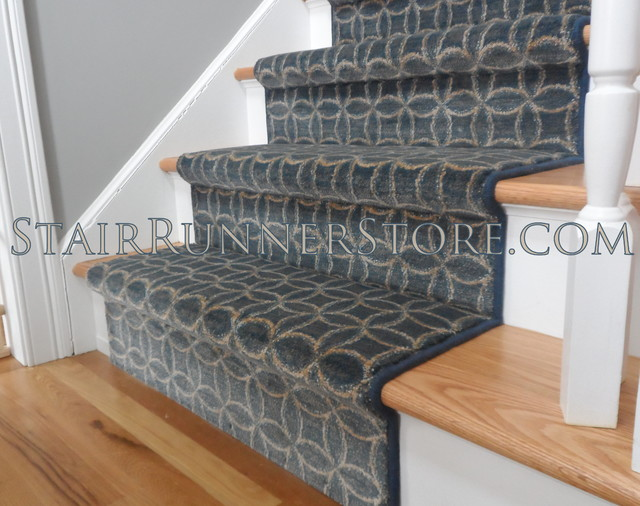 Stair Runners - Contemporary - Carpet Tiles - new york - by The Stair ...