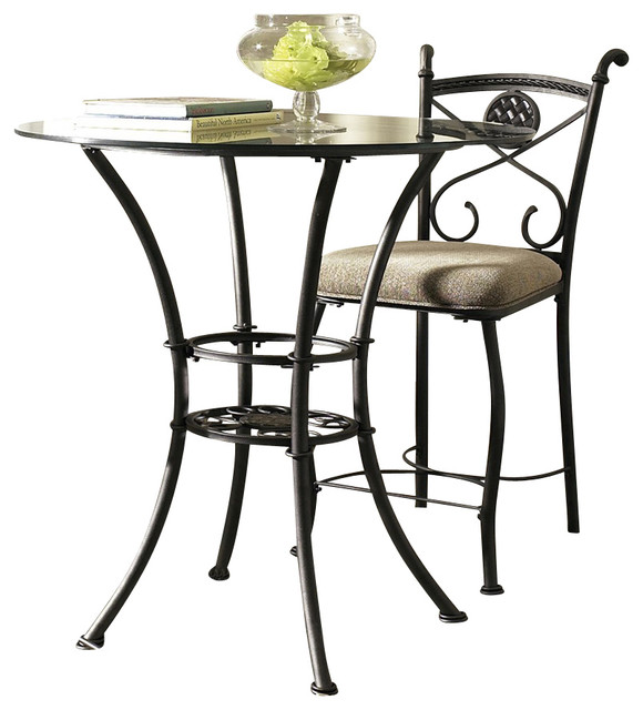 steve silver brookfield 36x36 counter height table contemporary bistro tables by