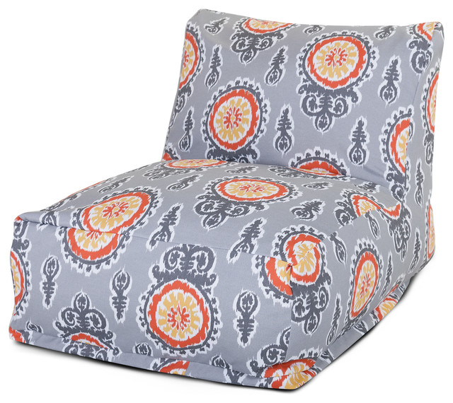 Outdoor Citrus Michelle Bean Bag Chair Lounger contemporary-chairs