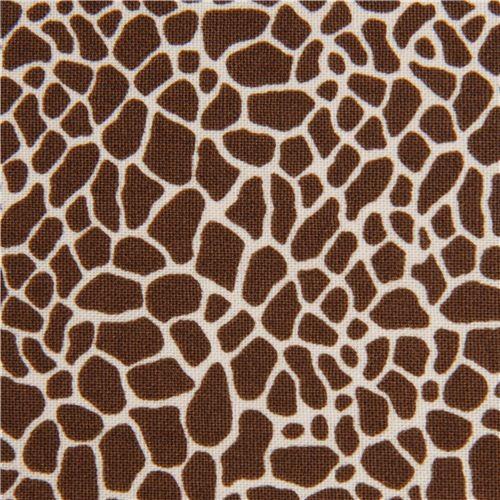 brown giraffe print fabric by Timeless Treasures USA  :  fabric from www.houzz.com size 500 x 500 jpeg 107kB