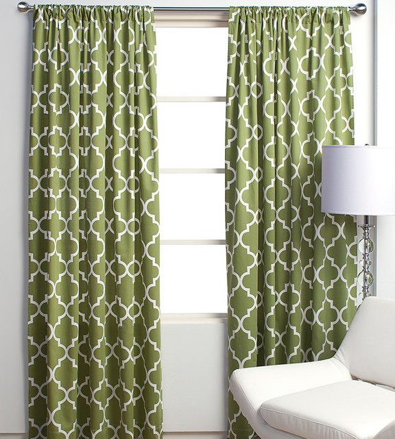 Mimosa Panels contemporary curtains
