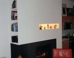 Fireplace Feature contemporary-living-room